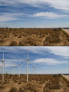 turbine before and after